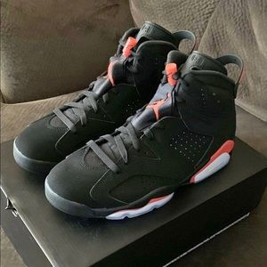 Air Jordan 6s Black infrared